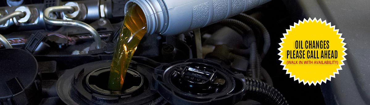 Preventative Oil Change & Quick Lube